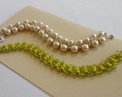 Бисероплетение для детей: красивые браслеты