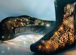 Высокотехнологичная обувь будущего на Неделе моды в Нью-Йорке