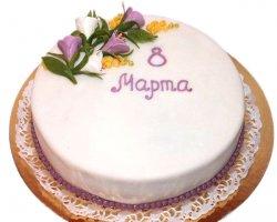 Вкусный торт к 8 марта