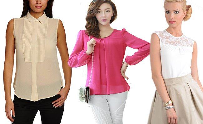 93800fa8565 Модные женские блузки весна-лето 2016