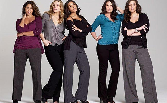 0a7cf7ec5972 Многие полные женщины комплексуют носить обтягивающие и яркие брюки,  ошибочно полагая, что такая одежда визуально добавляет пару-тройку лишних  кило.