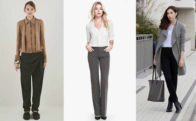 ae9ff7ab6 К слову, об укороченных женских брюках — они по-прежнему в тренде. В 2016  году актуальными останутся укороченные skinny, брюки с отворотами и  удлиненные ...
