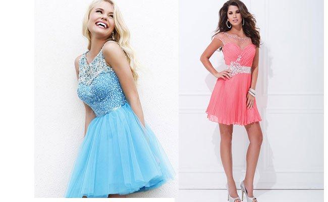 99fbfe94e52 Модные коктейльные платья сезона весна-лето 2016  обзор актуальных моделей