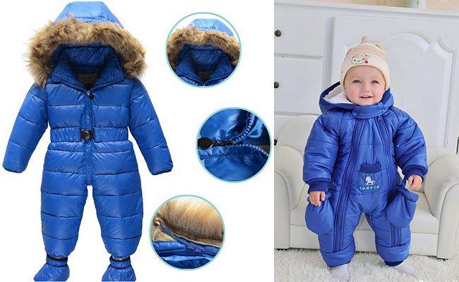 Теплые детские комбинезоны. Какие бывают наполнители для зимних ... bcf1723cd2e6f