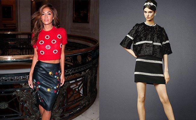 abb07c4deecdc07 На подиумах было представлено огромное количество моделей женственной  одежды, в том числе был сделан и акцент на юбках.