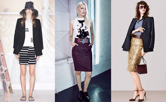 fc7a7f6fba0 Модным летним трендом 2015 года станут узкие юбки в пастельных тонах. Такая  цветовая гамма еще больше подчеркивает женственный силуэт.