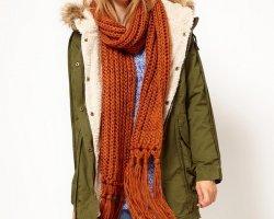 Способы носить шарф