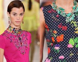 Модные украшения 2015: обзор стильной женской бижутерии
