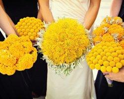 Желтая свадьба: организовываем солнечный праздник