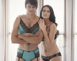 Мужская коллекция женского белья от известного бренда Homme Mystere