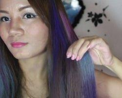 Новый образ каждый день: учимся красить волосы цветными мелками