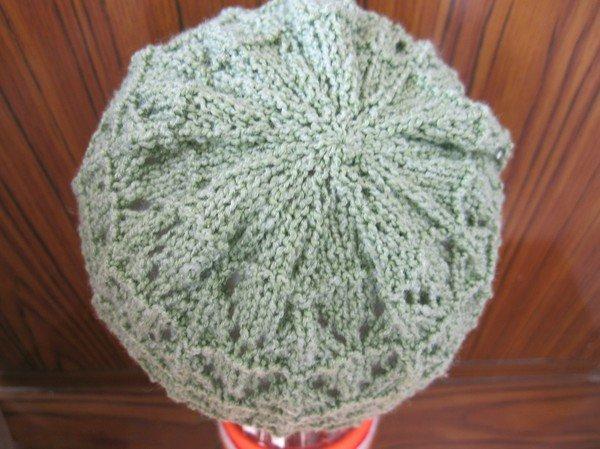 летняя детская шапочка спицами схема мастер класс по вязанию