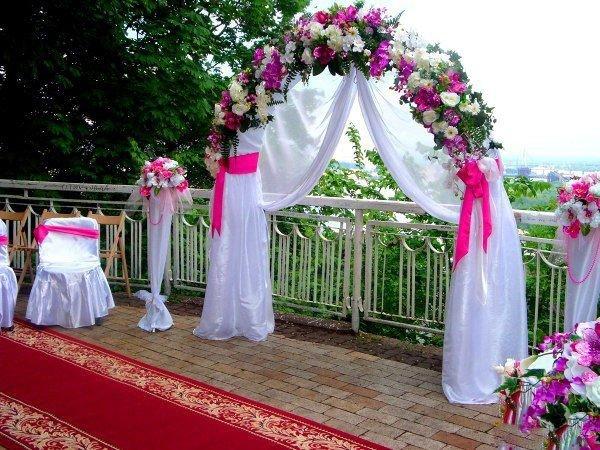 Как сделать арку для свадьбы своими руками 789