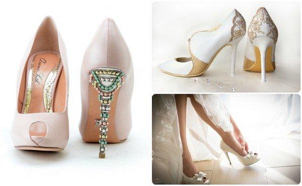 6698af3caf72 Туфли для невесты на свадьбу  как выбрать свадебную обувь, фото