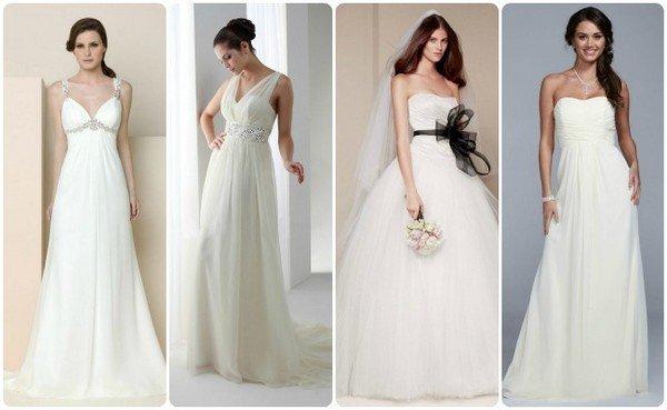 9eb00dc28641107 Платья для беременных: выбор платья для беременной невесты, модели ...