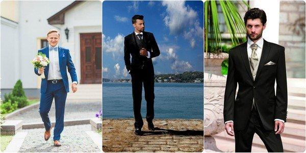 e10c48e37cb Модные мужские свадебные костюмы 2015. Рассмотрим наиболее популярные  сегодня модели свадебных мужских костюмов
