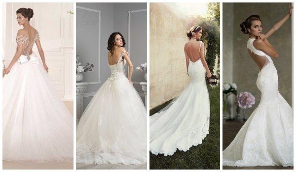 d354480f807 Открытые свадебные платья  какой фасон выбрать