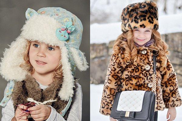 Актуальным будут и вязаные детские шапки с меховой отделкой e353084d7cc25