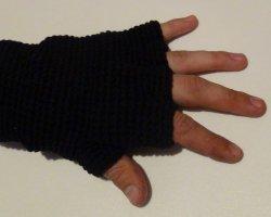 Летние мужские перчатки без пальцев