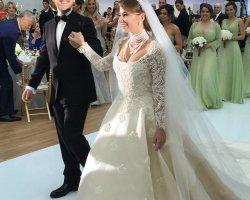 Долгожданное венчание дочери Валентина Юдашкина
