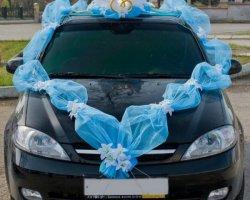 Украшаем свадебные машины – стильно и оригинально