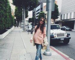 Как беременная Кети Топурия «прилетела» в Астану на Муз-ТВ