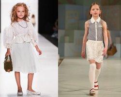 Модные детские юбки 2016: обзор стильных фасонов и цветовых решений