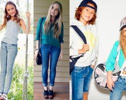 Джинсомания: самые стильные модели детских джинсов 2016 года