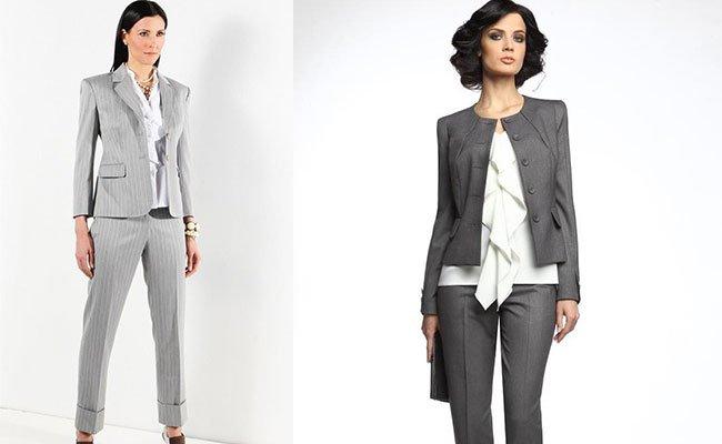8ab2f6ac0e2 Модные женские костюмы весна-лето 2016. Самые актуальные фасоны женских  деловых костюмов весна-лето 2016