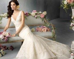 Роскошь цвета слоновой кости: свадебное платье айвори