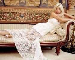 Прямое свадебное платье: сдержанное великолепие