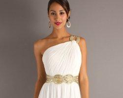 Харизма и нежность: выбираем свадебное платье в греческом стиле