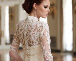Скромная прелесть: выбираем закрытое свадебное платье