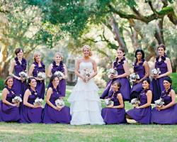 Веселый союз: красивые платья для подружек невесты