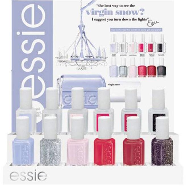 Осенние коллекции лаков для ногтей от Essie: Virgin Snow и Leggy Legend
