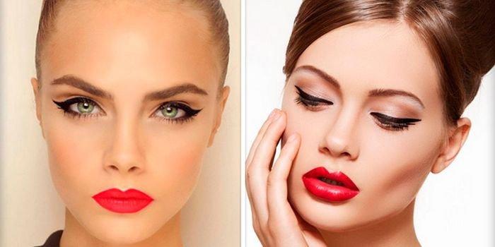 Учимся делать эффектный макияж со стрелками