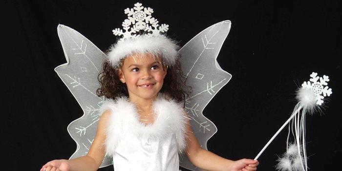 Зимняя красавица: новогодний костюм снежинки для девочки своими руками
