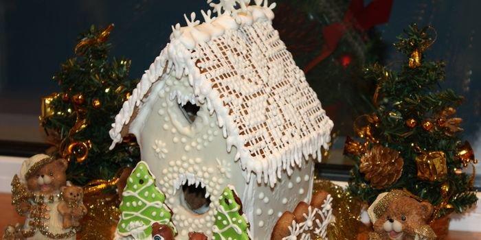 Делаем сами пряничный домик на Рождество, уникальный рецепт