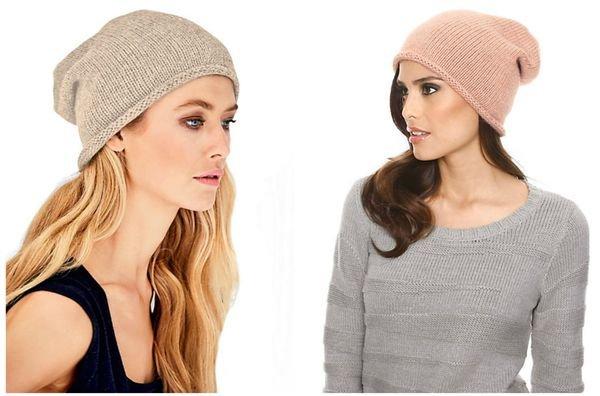 модные шапки осень зима 2015 2016 фото женские модные вязаные