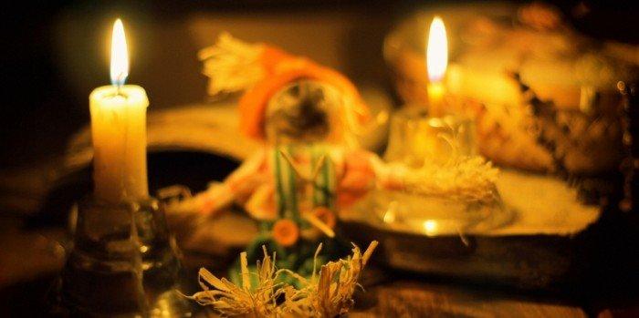 Уличные святочные гадания: гадание по валенку