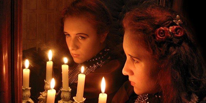 Гадание на Рождество на зеркало - техника предсказания