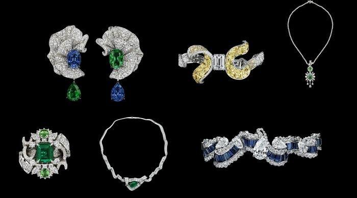 Soie – «шелковая» коллекция элитных украшений от Dior