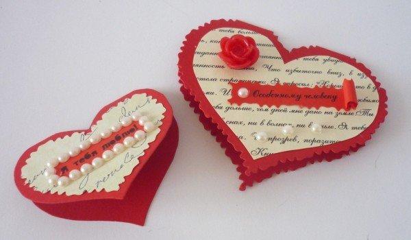 Валентинка — подарок на День всех влюбленных в 2019 году