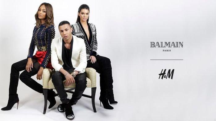 Высокая мода для народа: новая коллекция Balmain for H&M