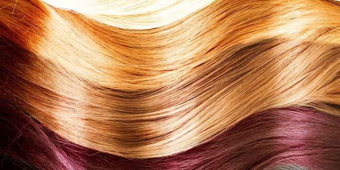 Интересные варианты окрашивания волос в два цвета