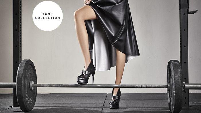 Как на танке: новая коллекция обуви Tank от Casadei