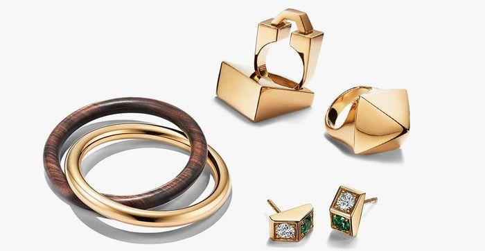 Коллекция украшений от Tiffany&Co и Dover Street Market