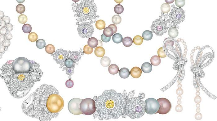 Новая коллекция украшений Camelia Solaire от Chanel