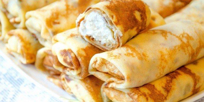 Нежные и аппетитные блины с творогом: лучшие рецепты приготовления