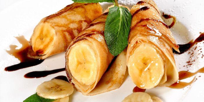 Экзотика для повседневного меню - блины с бананом, рецепты с фото